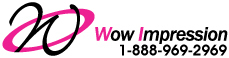 Wow impression logo
