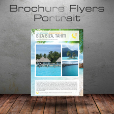 brochure flyer portrait
