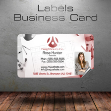 labels businesscards