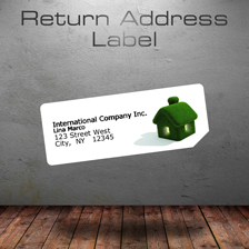 return address label