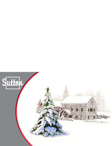 Sutton Greeting Cards Landscape Template: 302064
