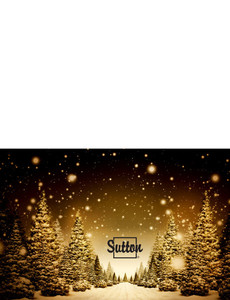 Sutton Greeting Cards Landscape Template: 304116