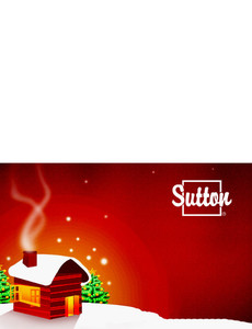 Sutton Greeting Cards Landscape Template: 304138