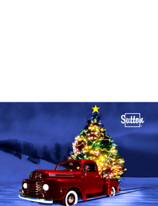 Sutton Greeting Cards Landscape Template: 303891