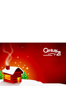 Century 21 Greeting Cards Landscape Template: 303317