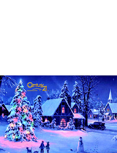Century 21 Greeting Cards Landscape Template: 303340