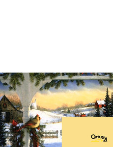 Century 21 Greeting Cards Landscape Template: 304006
