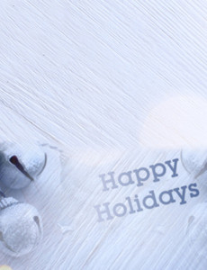 Holiday Greeting Cards Landscape Template: 603157
