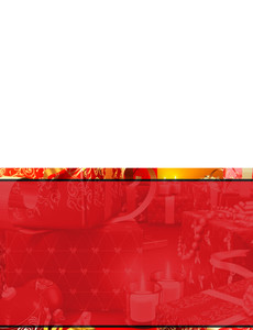 Holiday Greeting Cards Landscape Template: 581161