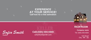Button to customize design -Keller Williams Flyers Template: 315453