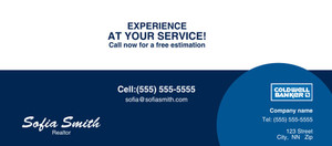 Button to customize design -Coldwell Banker Flyers Template: 313236