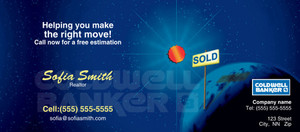 Button to customize design -Coldwell Banker Flyers Template: 315440