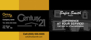 Button to customize design -Century 21 Flyers Template: 315433
