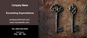 Button to customize design Keys Flyers Template: 328936