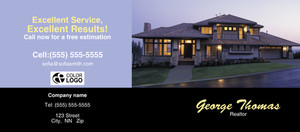 Button to customize design *Residential Flyers Template: 311051