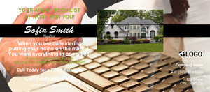 Button to customize design *Residential Flyers Template: 311072