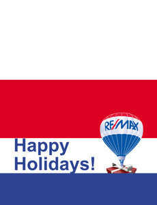Remax Greeting Cards Landscape Template: 302825