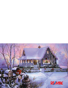 Remax Greeting Cards Landscape Template: 303427
