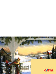 Remax Greeting Cards Landscape Template: 303987