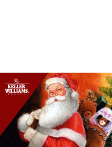 Keller Williams Greeting Cards Landscape Template: 302049