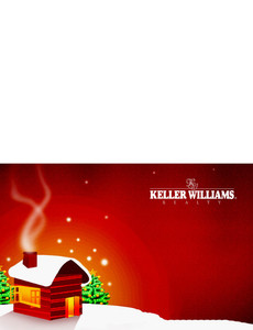 Keller Williams Greeting Cards Landscape Template: 304134