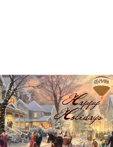 Remax - Re/max Greeting Cards Landscape Template: 580077
