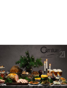 Century 21 Greeting Cards Landscape Template: 580135