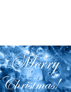 New Holiday Season Greeting Cards Landscape Template: 299000