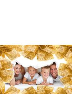 Family Portraits Greeting Cards Landscape Template: 327603