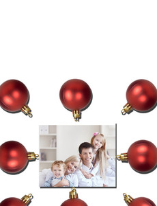 Family Portraits Greeting Cards Landscape Template: 327630
