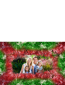 Family Portraits Greeting Cards Landscape Template: 327634
