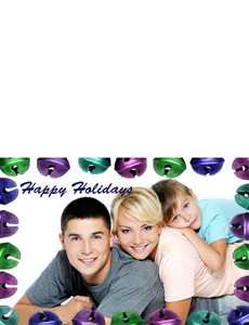 Family Portraits Greeting Cards Landscape Template: 327465
