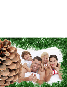 Family Portraits Greeting Cards Landscape Template: 327472
