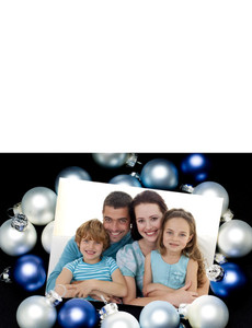 Family Portraits Greeting Cards Landscape Template: 327476