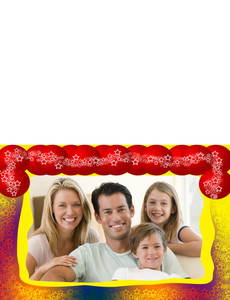 Family Portraits Greeting Cards Landscape Template: 327479