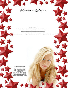 Hairdressers - Stylists Brochure Flyers Portrait Template: 342685
