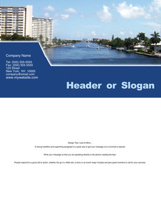 All City Panorama Brochure Flyers Portrait Template: 354679