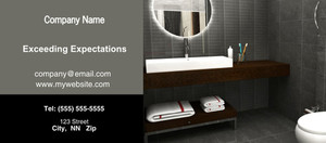 Button to customize design Washroom Flyers Template: 328813