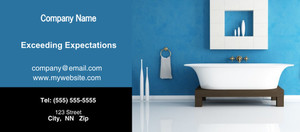 Button to customize design Washroom Flyers Template: 328073