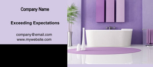 Button to customize design Washroom Flyers Template: 328089