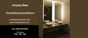 Button to customize design Washroom Flyers Template: 328749