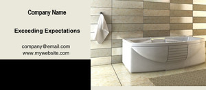 Button to customize design Washroom Flyers Template: 328009