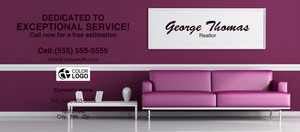 Button to customize design Living room Flyers Template: 311323