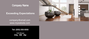 Button to customize design Living room Flyers Template: 327953