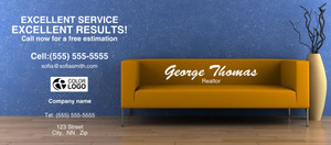 Button to customize design Living room Flyers Template: 311349