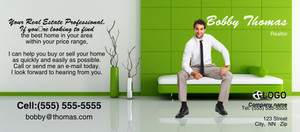 Button to customize design Living room Flyers Template: 322897