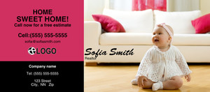 Living room Flyers Template: 311299
