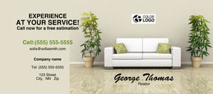 Living room Flyers Template: 311335