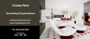 Button to customize design Kitchens Flyers Template: 327921