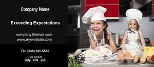 Button to customize design Kitchens Flyers Template: 327945